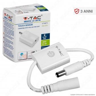 V-Tac VT-8071 Sensore Touch con Dimmer per Strisce LED - SKU 2556