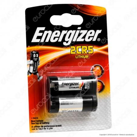 Energizer Lithium 2CR5 Pila Al Litio - Blister 1 Batteria