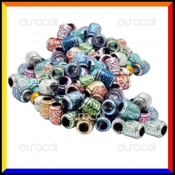 Loom Bands Gioielli Colorati - Bustina da 50 pz AL08
