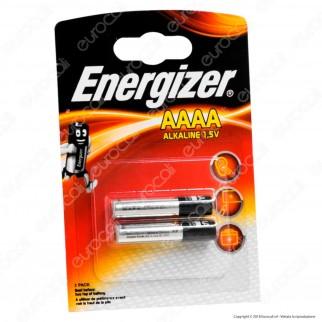 Energizer Alcaline Microstilo AAAA - Blister 2 Batterie