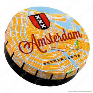 Scatolina in Metallo Portatutto con Apertura a Click - Fantasia Amsterdam Guide