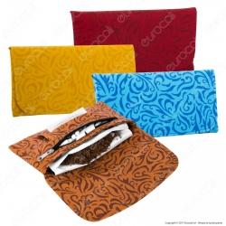 """Atomic Tobacco Pouch """"XL"""" Venetian Portatabacco in Similpelle - 6 Colorazioni"""