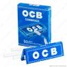 OCB Combipack Cartine Corte Blu e Filtri Ultraslim 5,5mm - Pacchetto Singolo