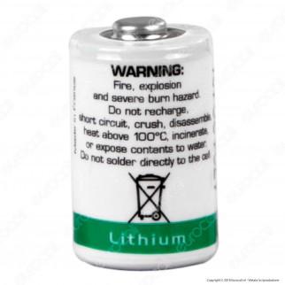 Saft Batteria Al Litio LS 14250 1/2 Stilo AA - Batteria Singola