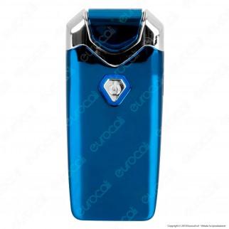 Cozy Accendino USB in Metallo Antivento Ricaricabile con Doppio Arco al Plasma - 1 Accendino