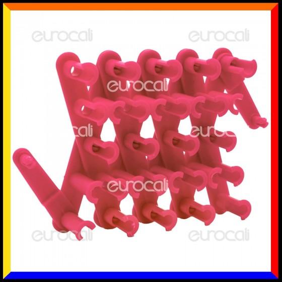 Loom Bands Telaio Richiudibile Colore Rosa Fluo - 1 Telaio AL16