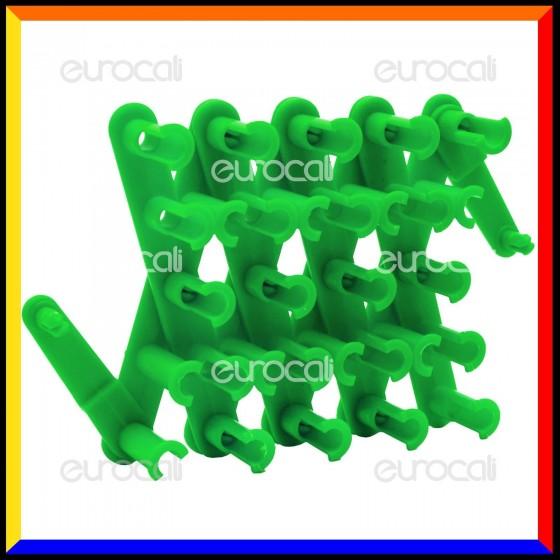 Loom Bands Telaio Richiudibile Colore Verde Fluo - 1 Telaio AL15