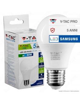 V-Tac PRO VT-209 Lampadina LED E27 9W Bulb A58 Chip Samsung - SKU 228