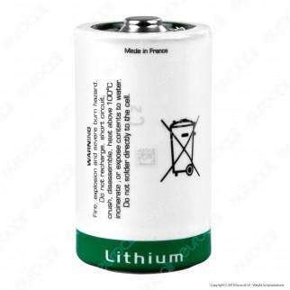Saft Batteria Al Litio LSH 20 ER-D Torcia D - Batteria Singola