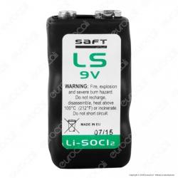 Saft Batteria Al Litio LS 9V Transistor - Batteria Singola