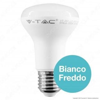 V-Tac PRO VT-263 Lampadina LED E27 8W Bulb Reflector Spot R63 Chip Samsung - SKU 141/ 142 / 143