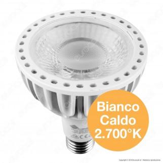 Marino Cristal Serie PRO Lampadina LED E27 25W Bulb Par Lamp PAR30 Chip Osram