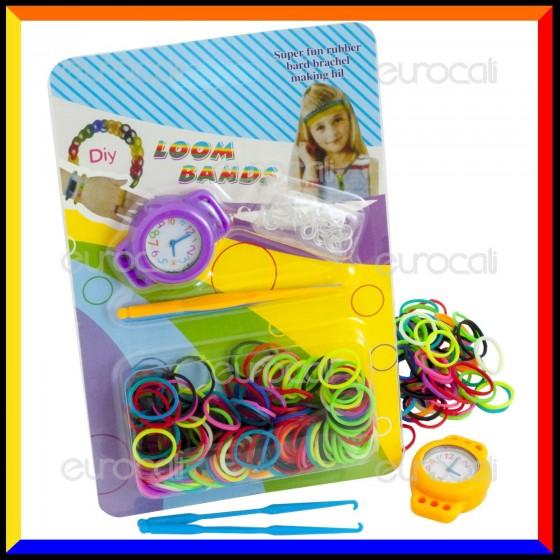 Loom Bands Kit Orologio Analogico - Blister 1 pz