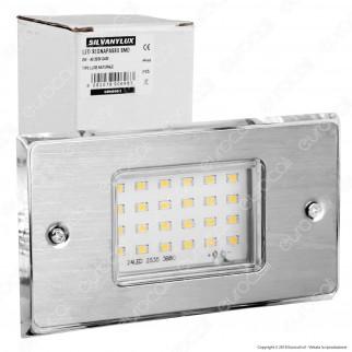 Sivanylux Faretto Segnapasso LED da Incasso per Cassetta Standard 503 2W