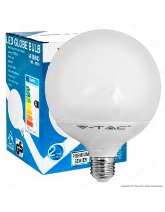 V-Tac VT-1884D Lampadina LED E27 13W Globo G120 Dimmerabile - SKU 4254 / 7194 / 7195