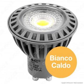 V-Tac VT-1860 Lampadina LED GU10 6W Faretto Spotlight - SKU 1603 / 1620 / 1607