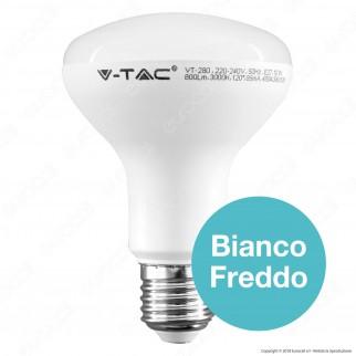 V-Tac PRO VT-280 Lampadina LED E27 10W Bulb Reflector R80 Chip Samsung - SKU 135 / 136