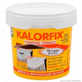 Tecnostuk Kalorfix Fissativo Termico per Interni ed Esterni - 1 Litro
