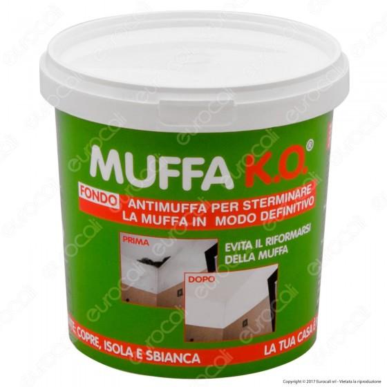 Tecnostuk Muffa K.O. Fondo per Coprire Isolare Sbiancare - 1 Litro