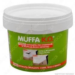 Tecnostuk Muffa K.O. Fondo per Coprire Isolare Sbiancare - 3 Litri