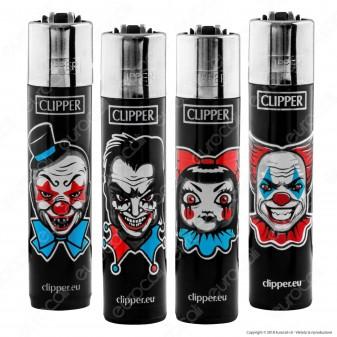 Clipper Large Fantasia Horror Clowns - 4 Accendini