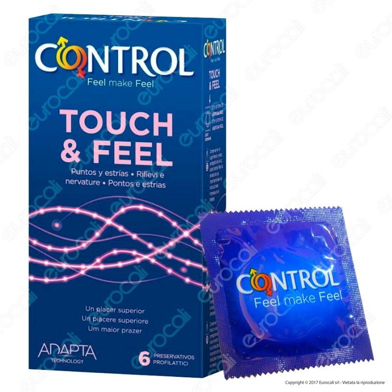 Preservativi Control Touch & Feel - Scatola da 6 Profilattici