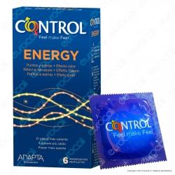 Preservativi Control Energy - Scatola da 6 Profilattici
