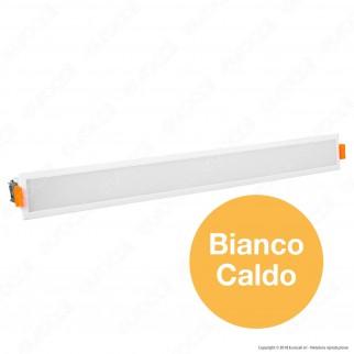 V-Tac VT-30001 Pannello LED Lineare 30W SMD da Incasso con Driver - SKU 6416 / 6417 / 6418