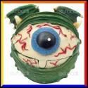 CannaBuds Posacenere da Tavolo in Poliresina con Coperchio Antiodore - Dragon Eye Monster