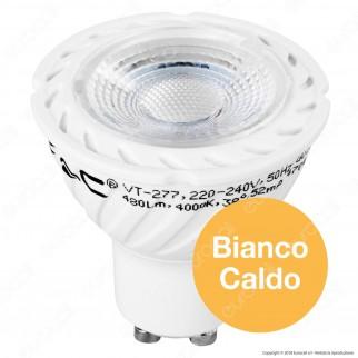 V-Tac PRO VT-277 Lampadina LED GU10 7W Faretto Spotlight Chip Samsung - SKU 165 / 166 / 167
