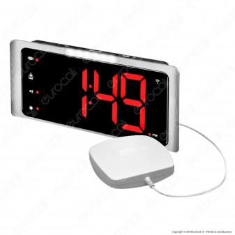 Amplicomms TLC 410 Sveglia Digitale per Portatori di Apparecchi Acustici