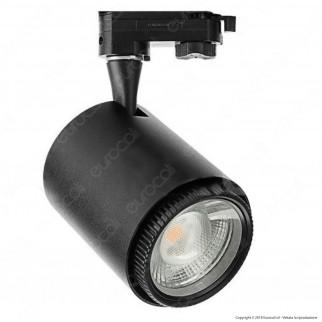 V-Tac VT-4718 Track Light LED COB 18W 3 Step Changing Color CRI≥95 Dimmerabile Bianco - SKU 1410 / 1411