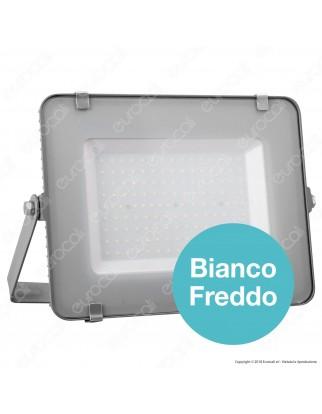 V-Tac PRO VT-150 Faro LED SMD 150W Ultrasottile Chip Samsung da Esterno Colore Nero - SKU 483