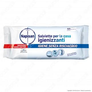 Napisan Wipes Salviette Per La Casa Igienizzanti - Confezione da 60 salviette