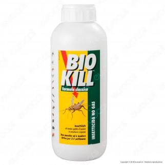 Bio Kill Insetticida Biologico Antiparassitario No Gas Formula Classica Ricarica - 1 Litro