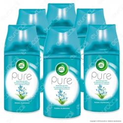 Kit Risparmio Air Wick Pure Freshmatic Profumo di Primavera - 6 Ricariche Spray da 250ml cad.