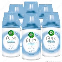 Kit Risparmio Air Wick Pure Freshmatic Soffice Cotone - 6 Ricariche Spray da 250ml cad.