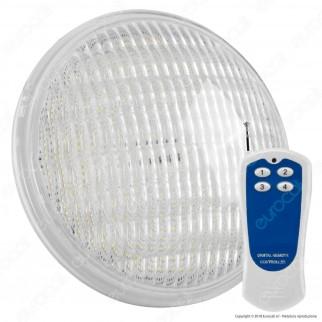 V-Tac VT-1268 Lampada LED RGB da Piscina PAR56 8W IP68 12V con Telecomando - SKU 7558