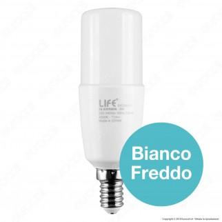 Life Lampadina LED E14 8W Tubolare T38