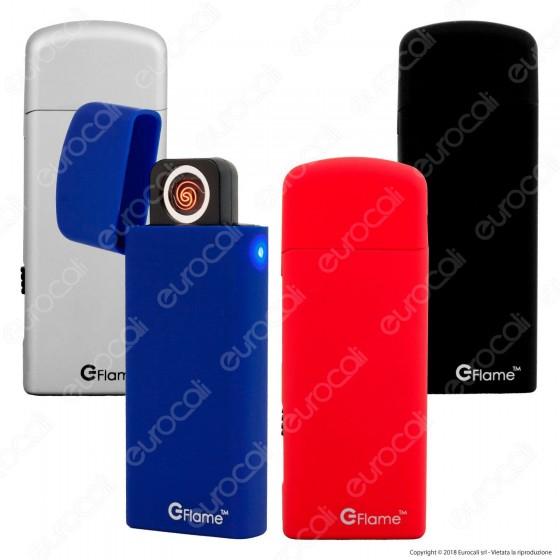 E-Flame Accendino USB Antivento Ricaricabile - 1 Accendino
