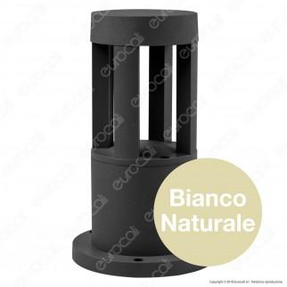 V-Tac VT-830 Lampada LED COB da Giardino con Fissaggio a Terra 10W Colore Nero IP65 - SKU 8322 / 8323 / 8324