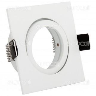 [EBAY] Kanlux DALLA CT-DTL50-W Portafaretto Orientabile Quadrato da Incasso per Lampadine GU10 e GU5.3 - 1