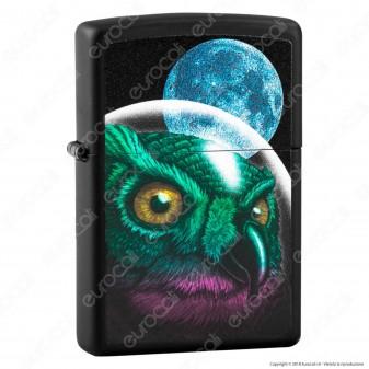 Accendino Zippo Mod. 29616 Space Owl - Ricaricabile Antivento
