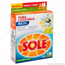 Sole Cura Lavatrice Freschezza Limone - 2 Flaconi da 250ml