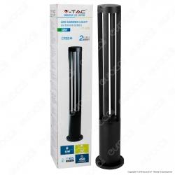 V-Tac VT-820 Lampada LED da Giardino con Fissaggio a Terra 10W Colore Nero IP65 - SKU 8331 / 8332 / 8333