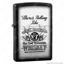Accendino Zippo Mod. 29293 Jack Daniels® - Ricaricabile Antivento