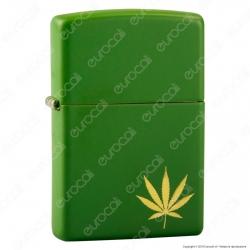 Accendino Zippo Mod. 29588 Marijuana Leaf - Ricaricabile Antivento