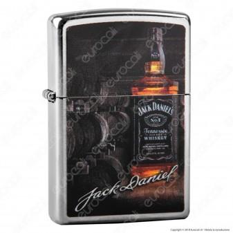 Accendino Zippo Mod. 29570 Jack Daniels® - Ricaricabile Antivento