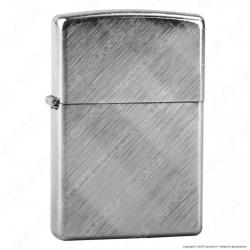Accendino Zippo Mod. 28182 Diagonal Weave - Ricaricabile Antivento