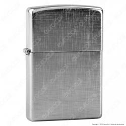 Accendino Zippo Mod. 28181 Linen Weave - Ricaricabile Antivento